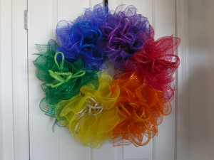 SAM_1401-300x225 LGBT Rainbow Wreath