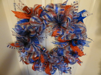 Large Patriotic Wreath