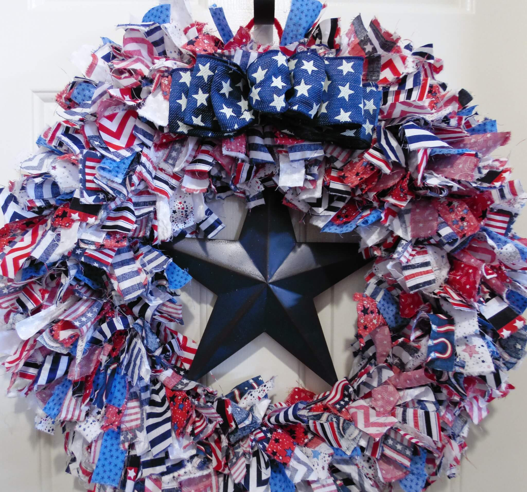 American Rag Stars and Stripes Wreath