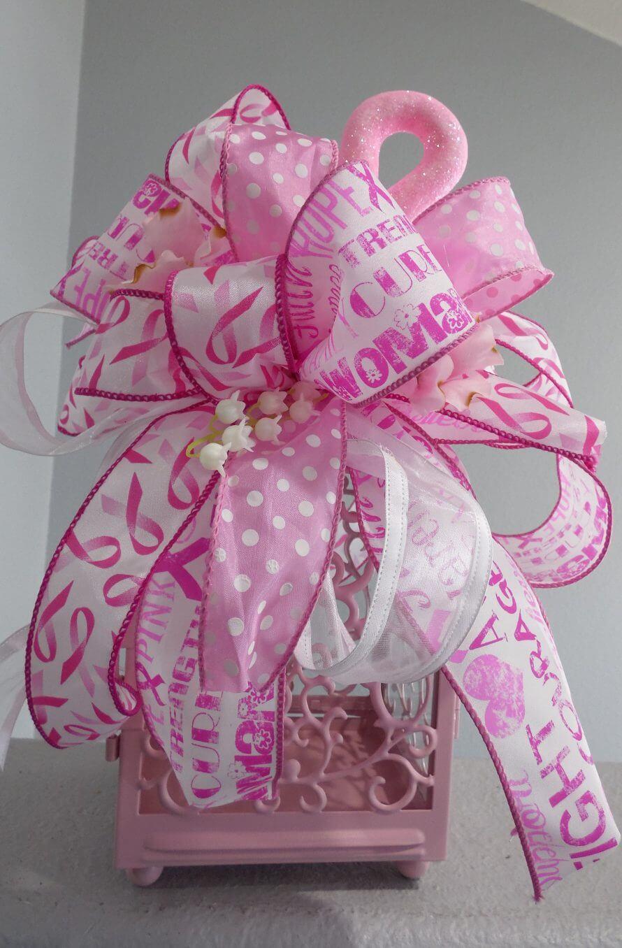 Pink Christmas Wreaths