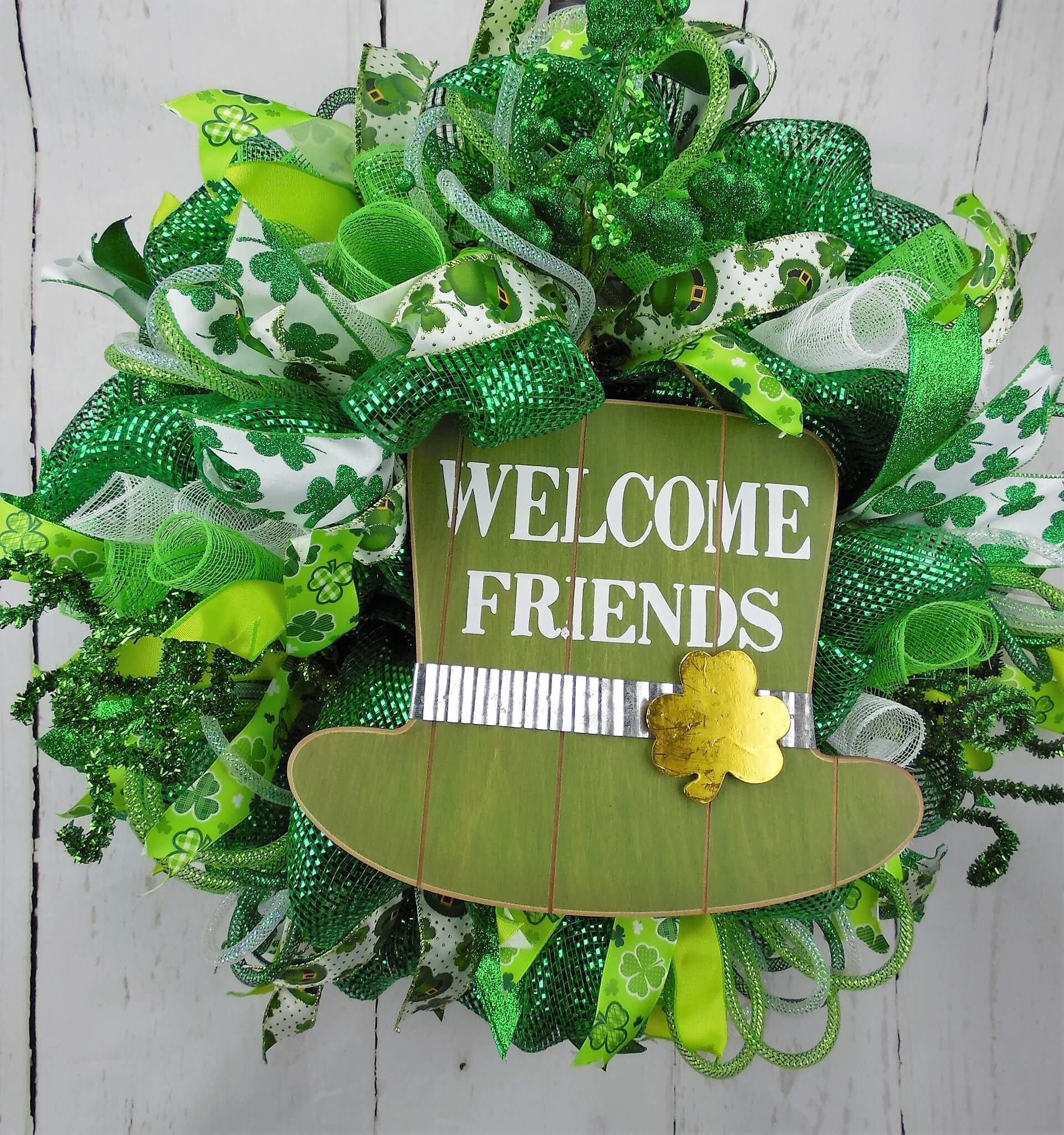 Leprechaun Hat Wreath