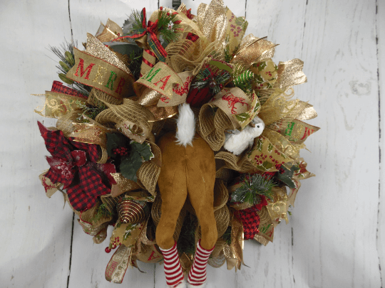 Deer Butt Wreath