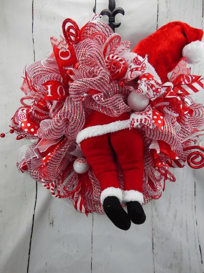 Santa Butt Wreath