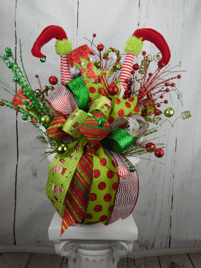 Christmas Elf Centerpiece