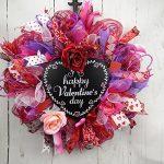 valentines-day-wreath-1-150x150 Valentines Day Deco Mesh Wreath