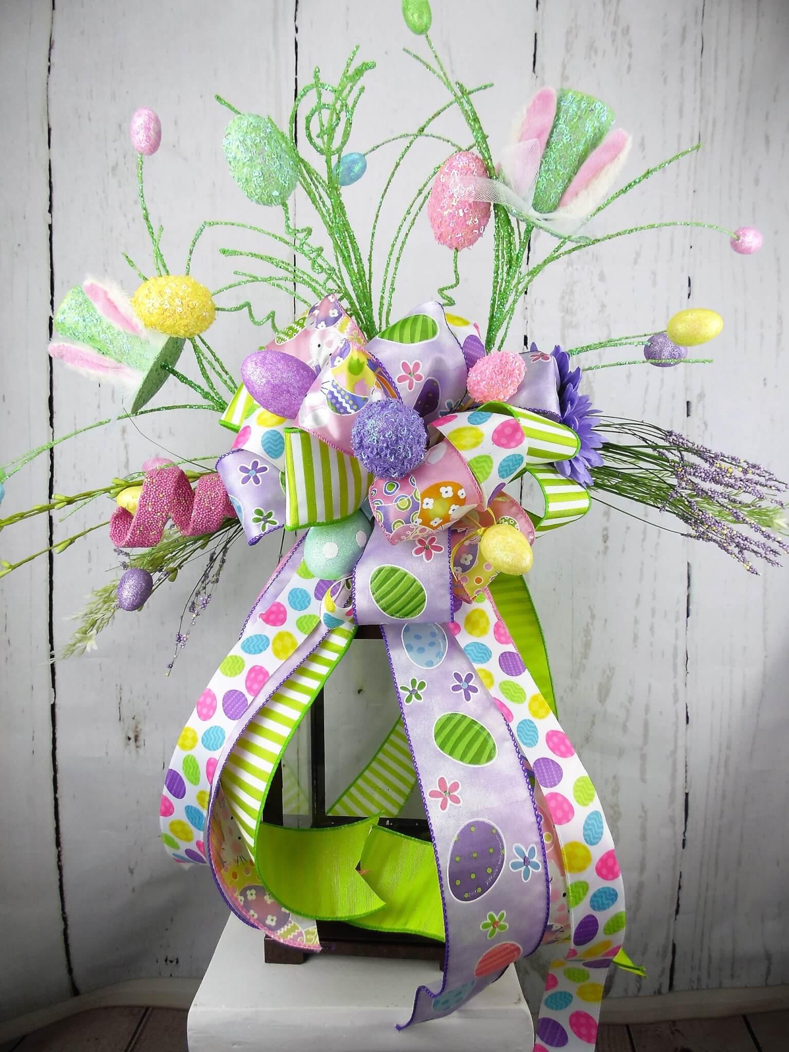 Pastel Easter Egg Lantern Swag
