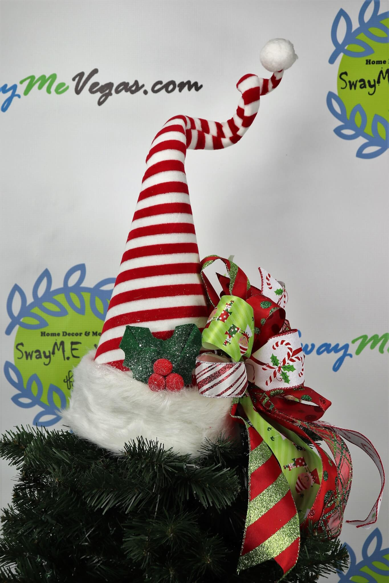 Elf Hat Tree Topper